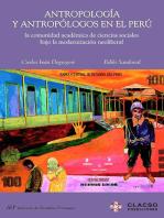 Antropología y antropólogos en el Perú