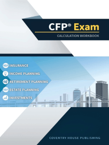 CFP Exam Calculation Workbook: 400+ Calculations to Prepare for the CFP Exam (2018 Edition)