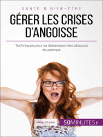 Gérer les crises d'angoisse
