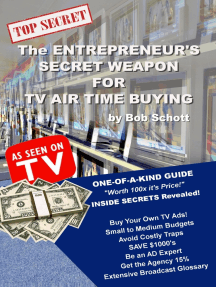 The Entrepreneur's Secret Weapon for TV Air Time Buying