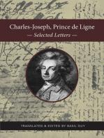Charles-Joseph, Prince de Ligne: Selected Letters
