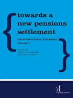 Towards a New Pensions Settlement