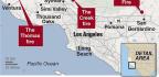 Ventura County Wildfire Destroys More Homes, Reaches Pacific Ocean