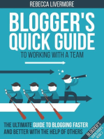 Blogger's Quick Guide to Working with a Team