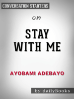 Stay with Me by Ayobami Adebayo | Conversation Starters