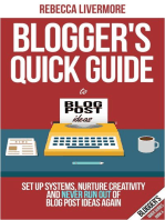 Blogger's Quick Guide to Blog Post Ideas