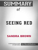 Summary of Seeing Red by Sandra Brown | Conversation Starters