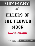 Summary of Killers of the Flower Moon by David Grann | Conversation Starters