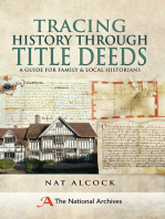 Tracing History Through Title Deeds