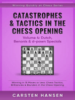 Catastrophes & Tactics in the Chess Opening - Volume 4