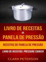 Livro de receitas de panela de pressão