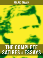 The Complete Satires & Essays of Mark Twain