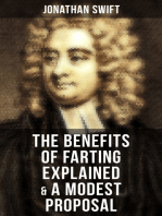The Benefits of Farting Explained & A Modest Proposal