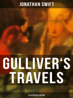 GULLIVER'S TRAVELS (Illustrated Edition)