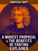 A Modest Proposal & The Benefits of Farting Explained