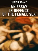 AN ESSAY IN DEFENCE OF THE FEMALE SEX
