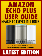 Amazon Echo Plus User Guide Newbie to Expert in 1 Hour!