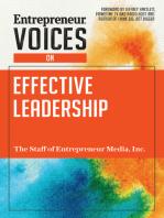 Entrepreneur Voices on Effective Leadership