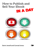 How to Publish and Sell Your Ebook IN A DAY