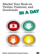 Market Your Book on Twitter, Pinterest, and Goodreads IN A DAY