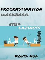 Overcoming Procrastination Workbook: