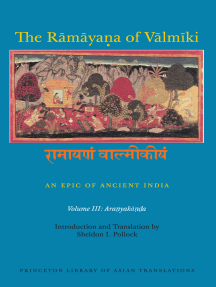 The Rāmāyaṇa of Vālmīki: An Epic of Ancient India, Volume III: Aranyakāṇḍa