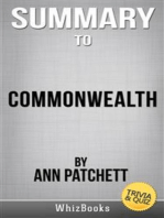 Summary of Commonwealth by Ann Patchett (Trivia/Quiz Reads)