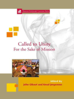 Called to Unity for the Sake of Mission