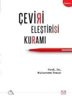 Çeviri Eleştirisi Kuramı