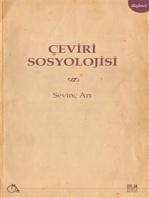 Çeviri Sosyolojisi