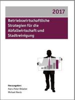Betriebswirtschaftliche Strategien für die Abfallwirtschaft und Stadtreinigung 2017