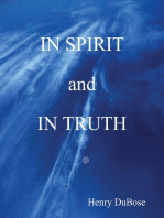 In Spirit and In Truth