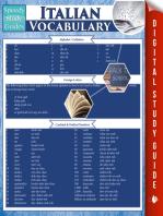 Italian Vocabulary (Speedy Study Guides)