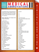 Medical Abbreviations Il (Speedy Study Guides)