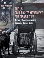 The US Civil Rights Movement for Disabilities - History Books America | Children's History Books