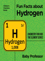 Fun Facts about Hydrogen