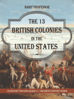 The 13 British Colonies in the United States - US History for Kids Grade 3 | Children's History Books