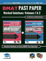 BMAT Past Paper Worked Solutions Volume 1 & 2