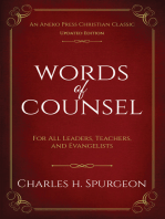 Words of Counsel