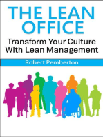 The Lean Office: Transform Your Culture With Lean Management
