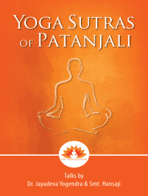 Read Yoga Sutras Of Patanjali Talks By Dr Jayadeva Yogendra Smt Hansaji Online By Dr Jayadeva Yogendra Books