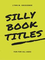 Silly Book Titles