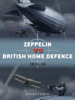 Zeppelin vs British Home Defence 1915–18