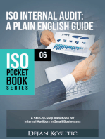 ISO Internal Audit – A Plain English Guide: A Step-by-Step Handbook for Internal Auditors in Small Businesses