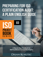 Preparing for ISO Certification Audit – A Plain English Guide