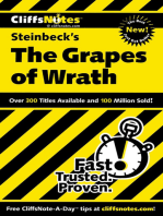 CliffsNotes on Steinbeck's The Grapes of Wrath