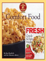 The Old Farmer's Almanac Comfort Food & Cooking Fresh Bookazine