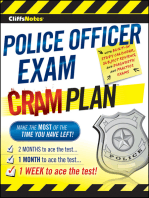CliffsNotes Police Officer Exam Cram Plan