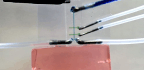 Fast Fluids Pull 'Wet Noodle' Electrodes Into Brain