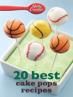 Betty Crocker 20 Best Cake Pops Recipes